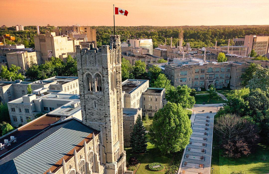 Được biết đến là trường có khuôn viên đẹp nhất Canada, Western University đem lại không gian học tập lý tưởng