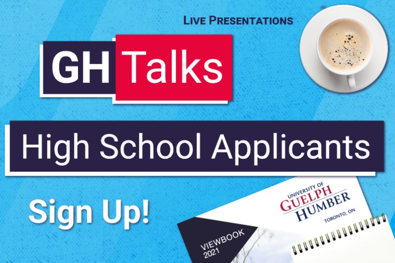 GH Talks: High School Applicants